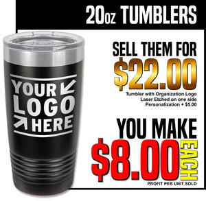 Fundraiser - 20oz Insulated Tumblers