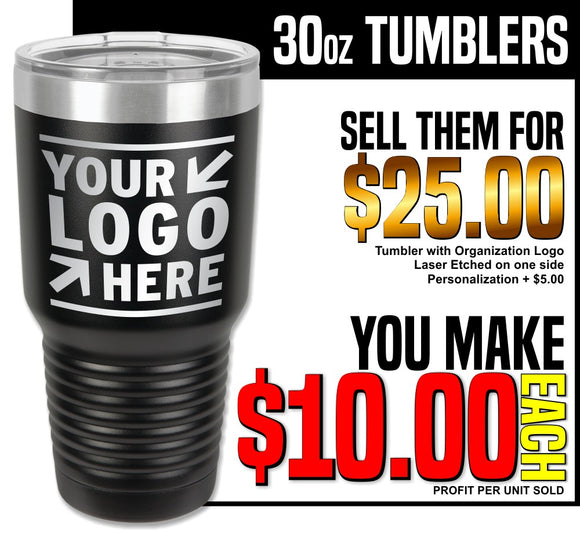 Fundraiser - 30oz Insulated Tumblers