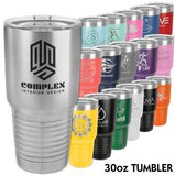 30 oz Polar Insulated Stainless Tumblers in 18 Colors