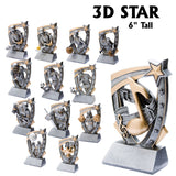 3D Star Series Sport Activity Resin Awards | 13 STYLES