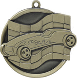 "2-1/4"" Mega Series Pinewood Derby Award Medals on 7/8"" Neck Ribbons"