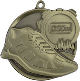 "2-1/4"" Mega Series Cross Country Award Medals on 7/8"" Neck Ribbons"