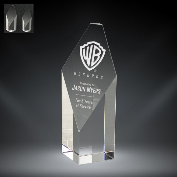 GreyStone Kryptonite Crystal Award | 2 SIZES