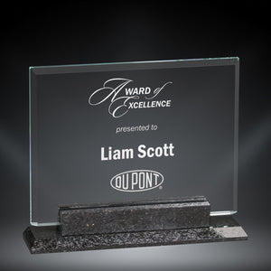 GreyStone Mesa Granite and Glass Award | 3 SIZES