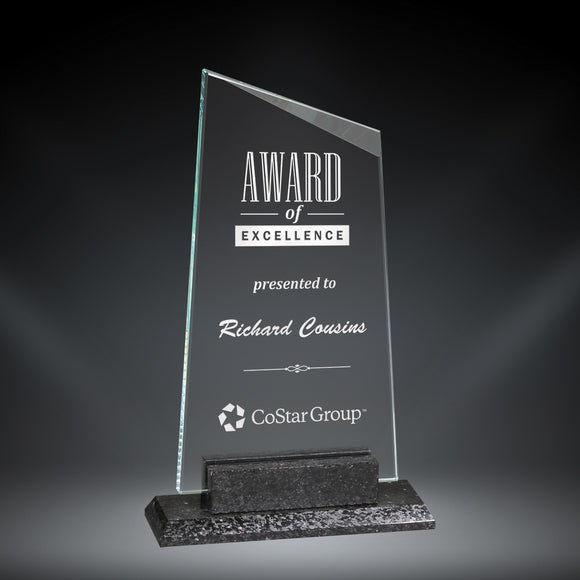 GreyStone York Granite and Glass Award | 3 SIZES