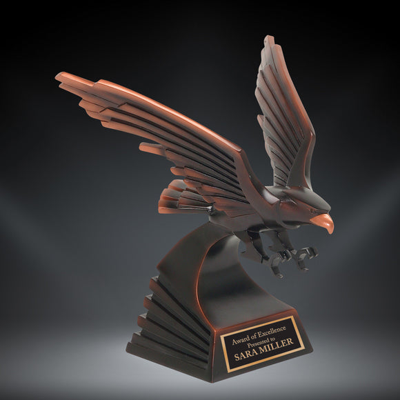 GreyStone Bronze Modern Eagle Resin | 4 SIZES