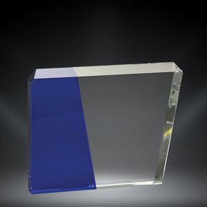 GreyStone Eclipse Crystal Award with Colored Accents | 3 COLORS | 3 SIZES