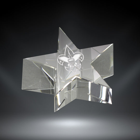 GreyStone Crystal Star Paperweight