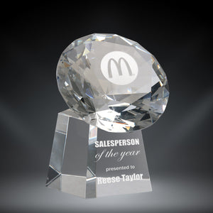 GreyStone Crystal Diamond Tower Award | 2 SIZES