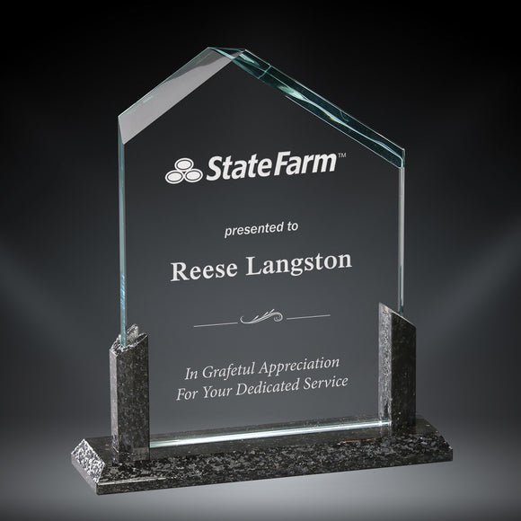 GreyStone Summit Granite and Glass Award | 3 SIZES
