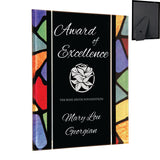 Premier - Stained Glass Inspired Acrylic Plaques | 3 SIZES