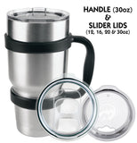 Polar Camel Tumbler Accessories - Handle, Slider Lids, Replacement Lids
