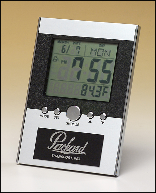 Airflyte Multi-function clock with large LCD screen