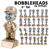 Bobble Head Action Sport and Activity Resin Awards | 36 STYLES