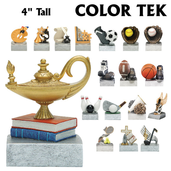 Color Tek Series Sport and Activity Resin Awards | 18 STYLES
