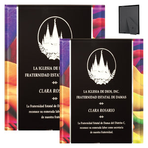 Barhill - Art Deco Inspired Acrylic Plaques | 2 SIZES