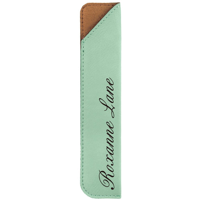 Customizable Leatherette Pen Sleeves | 11 COLORS