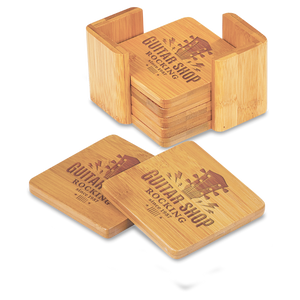 Bamboo 6-Coaster Sets | 2 OPTIONS