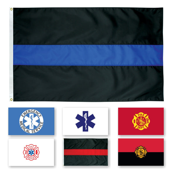 OUTDOOR - Endura Nylon Civilian Service Flags