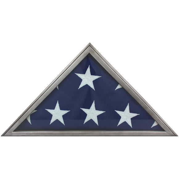 Metallic Gray Flag Case | For 5' x 9-1/2' Flags