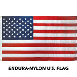 ENDURA-NYLON - 3' x 5' Outdoor American Flag Sets
