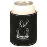 Leatherette Beverage Holder (Can Cooler) | 11 Colors Available