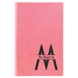 Customizable Leatherette Personal Journal | 9 COLORS