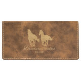 Customizable Leatherette Check Book Covers | 7 COLORS