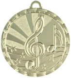 "2"" Bright Series Award Medals on 7/8"" Neck Ribbons 