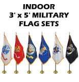 INDOOR / PARADE - Armed Forces Flags Complete Sets