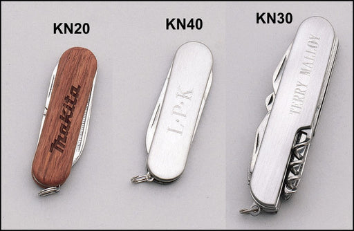 Airflyte Multi-Function Pocket Knives Stainless and Wood | 3 OPTIONS