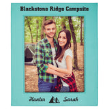Customizable Leatherette Photo Picture Frames | 3 SIZES | 11 COLORS