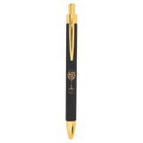 Customizable Leatherette wrapped Pen | 11 COLORS