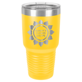 30 oz Polar Insulated Stainless Tumblers in Yellow