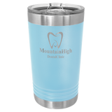 16 oz. Polar Camel PINT Style Tumblers | Light Blue