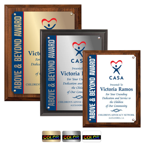 LA Trophies - Full Color Sublimated Medium Size Plaques - 6x8, 7x9, 8x10 | 3 SIZES