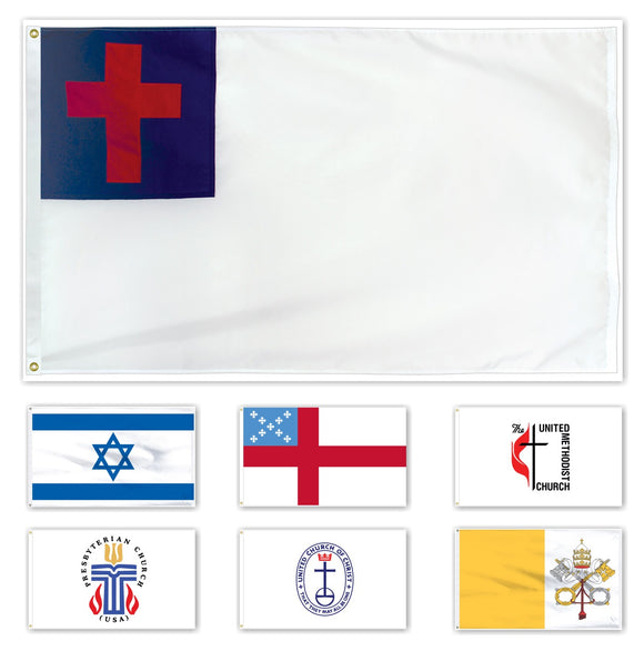 ENDURA-NYLON Outdoor Religious Flags