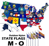 ENDURA-NYLON Outdoor STATE Flags | M-O (Maine - Oregon)
