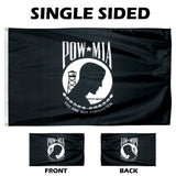 OUTDOOR - Endura Nylon POW-MIS Single Face Flag