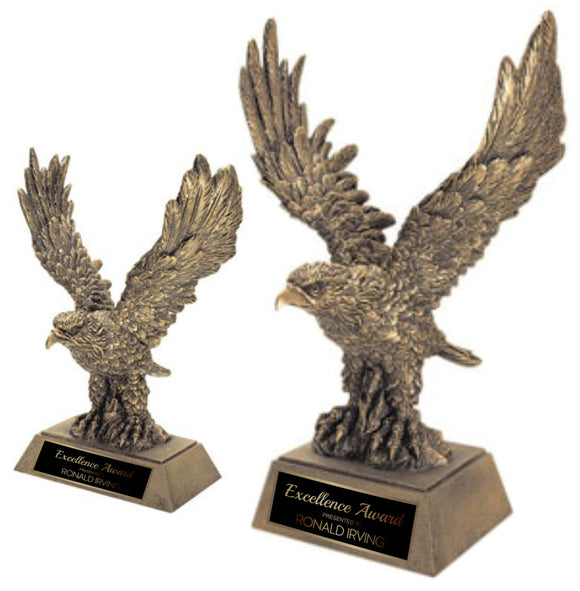 GreyStone Gold Eagle Resin Award | 2 SIZES