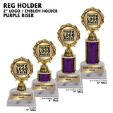 "2"" Emblem Holder Award Trophies 