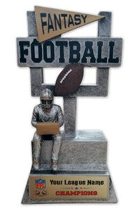 Fantasy Football League Resin Trophy