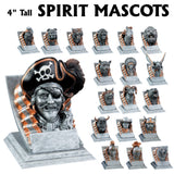 Spirit Series High Detail Mascot Resin Awards | 19 STYLES