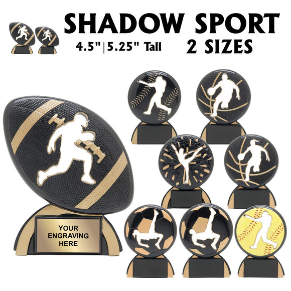 Shadow Sport Series Resin Awards | 8 STYLES | 2 SIZES