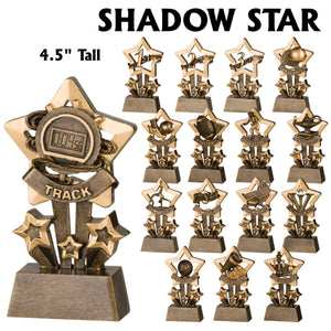 Shadow Star Series Sport Activity Resin Awards | 16 STYLES