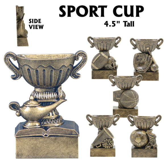 Sport Cup Series Sport Activity Resin Awards | 6 STYLES