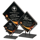 Premier - Galaxy Star Acrylics in Black Iron Stand | 3 SIZES