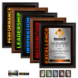 LA Trophies - Full Color Sublimated Service Plaque - 8x10 | 5 DESIGNS