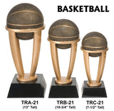 BASKETBALL TOWER RESIN TROPHY AWARDS