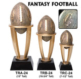 FANTASY FOOTBALL TOWER RESIN TROPHY AWARDS